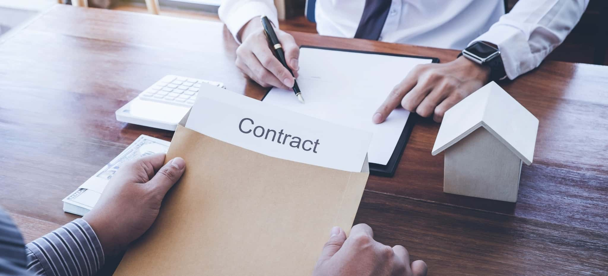 Contrato de crédito habitação