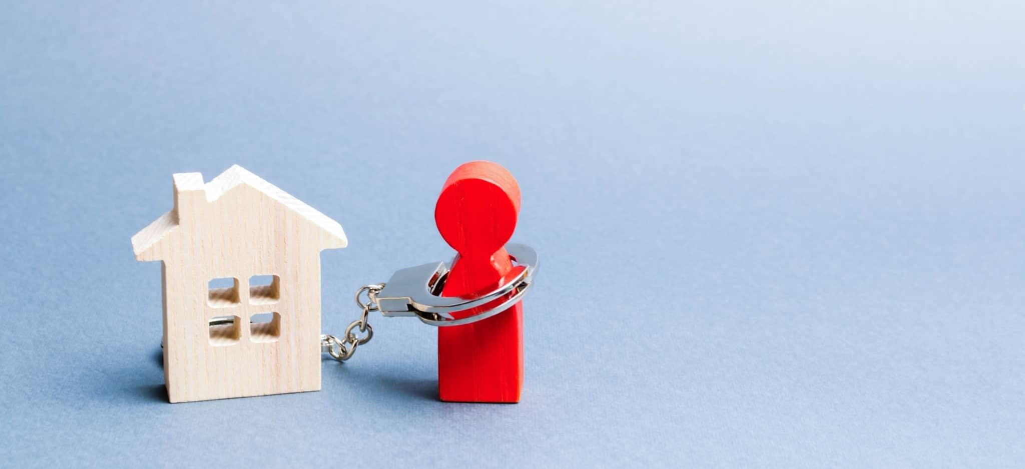 Preso a um crédito habitação