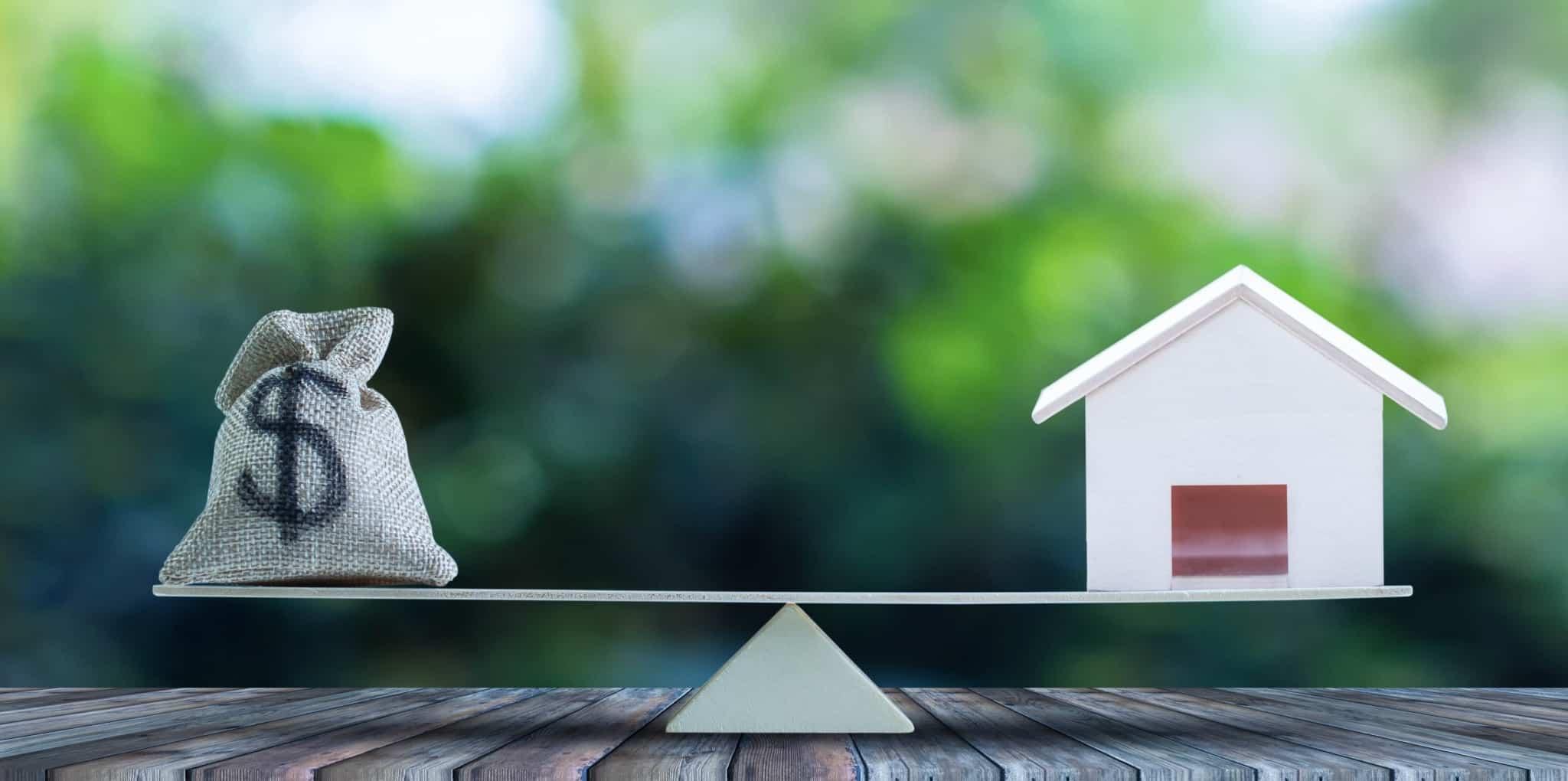 Dinheiro versus crédito habitação