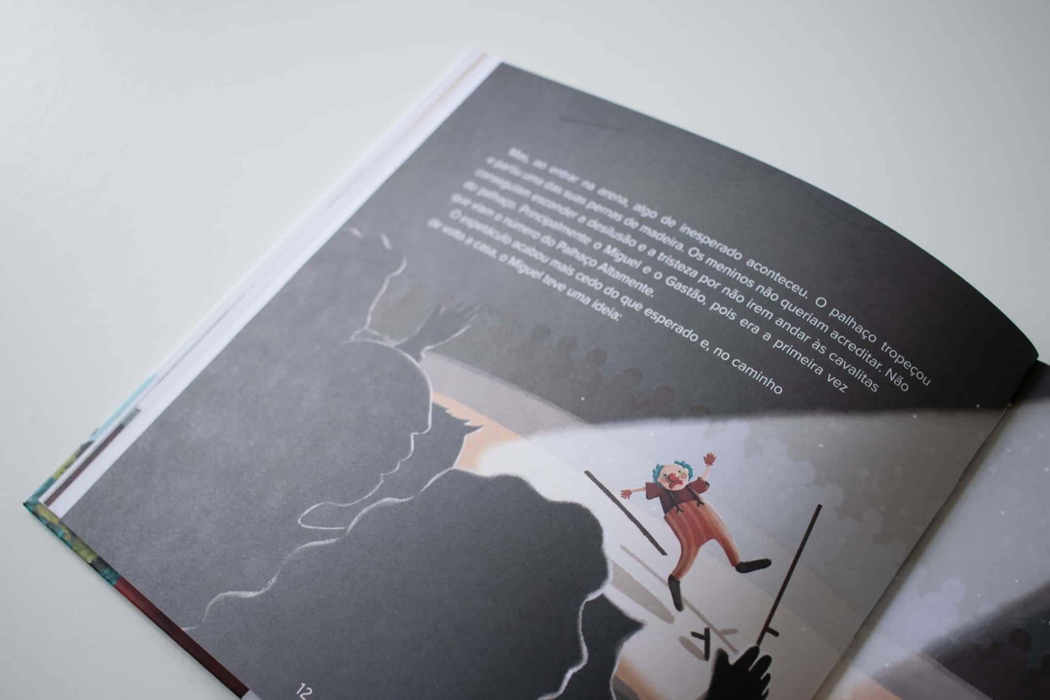 Ilustração do livro