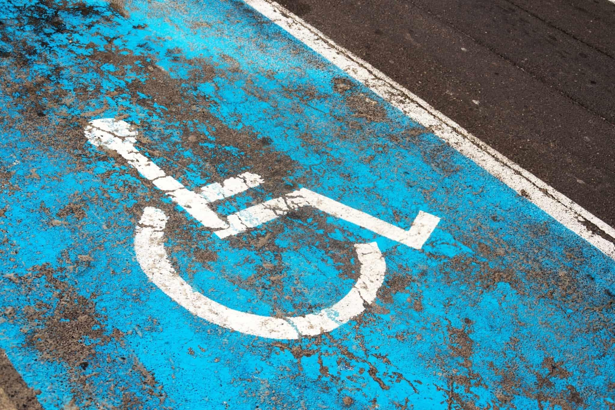 Lugar para pessoas com deficiência