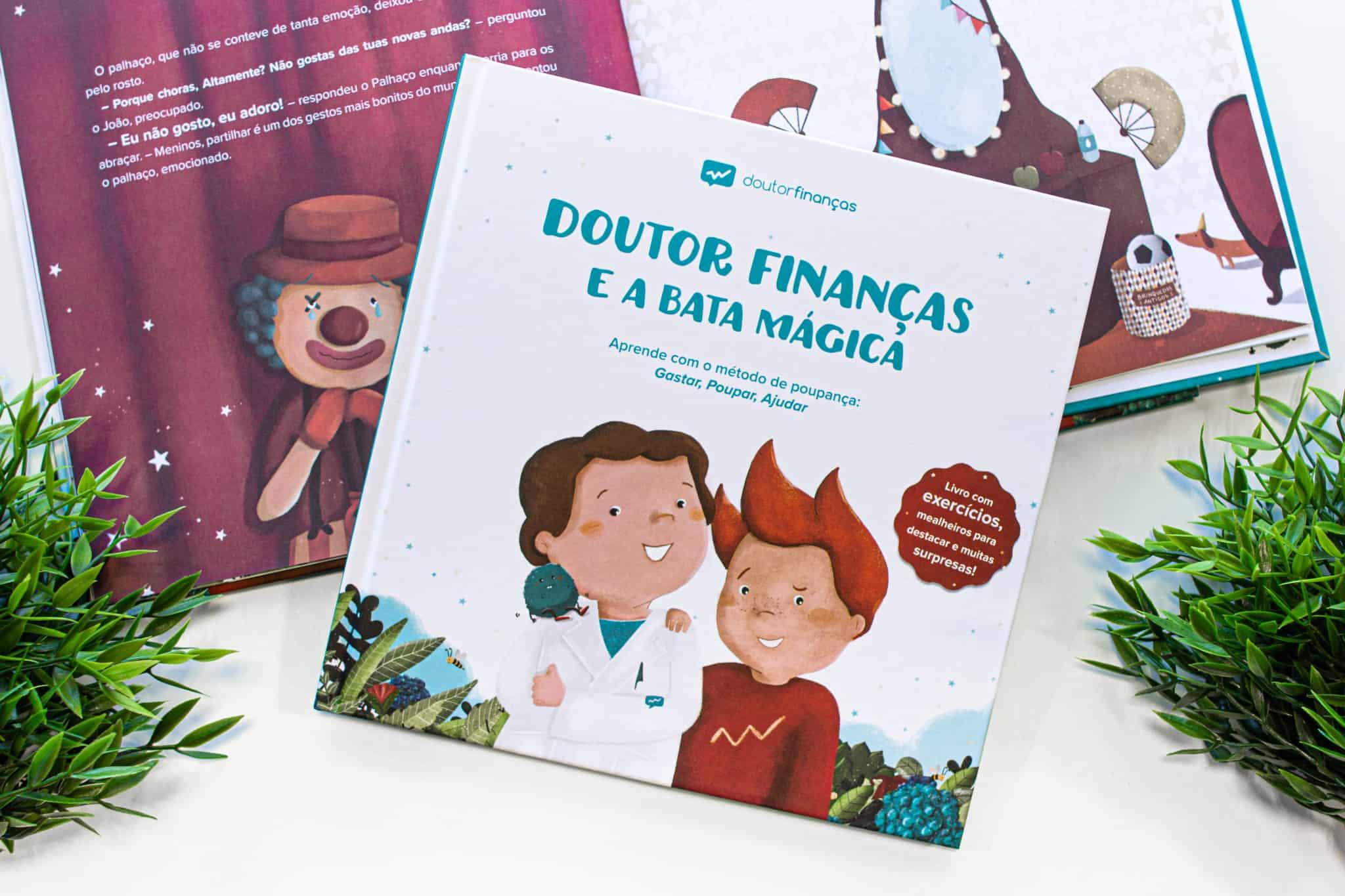 livro doutor finnaças e a bata mágica