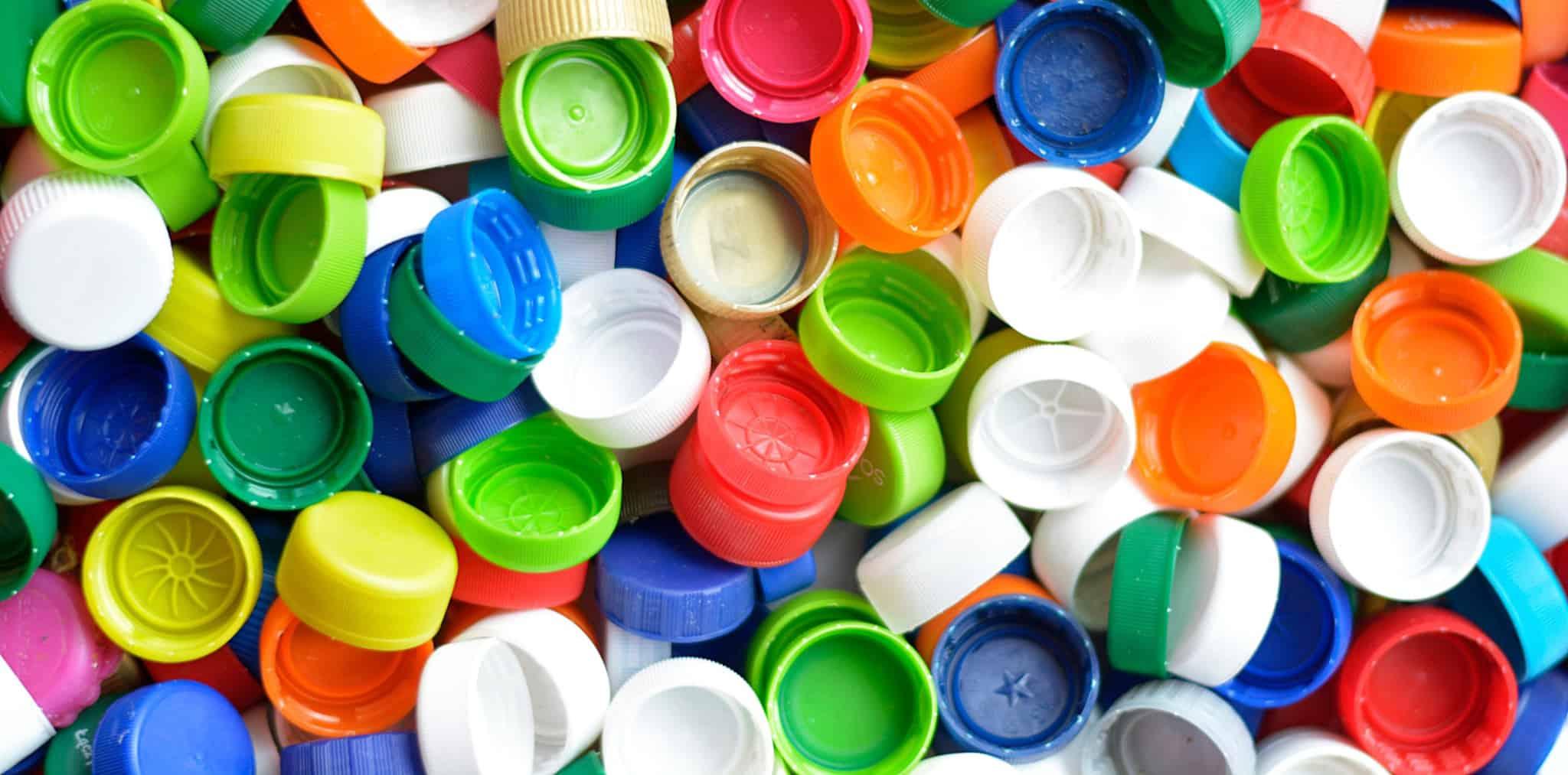 Tampas de plástico