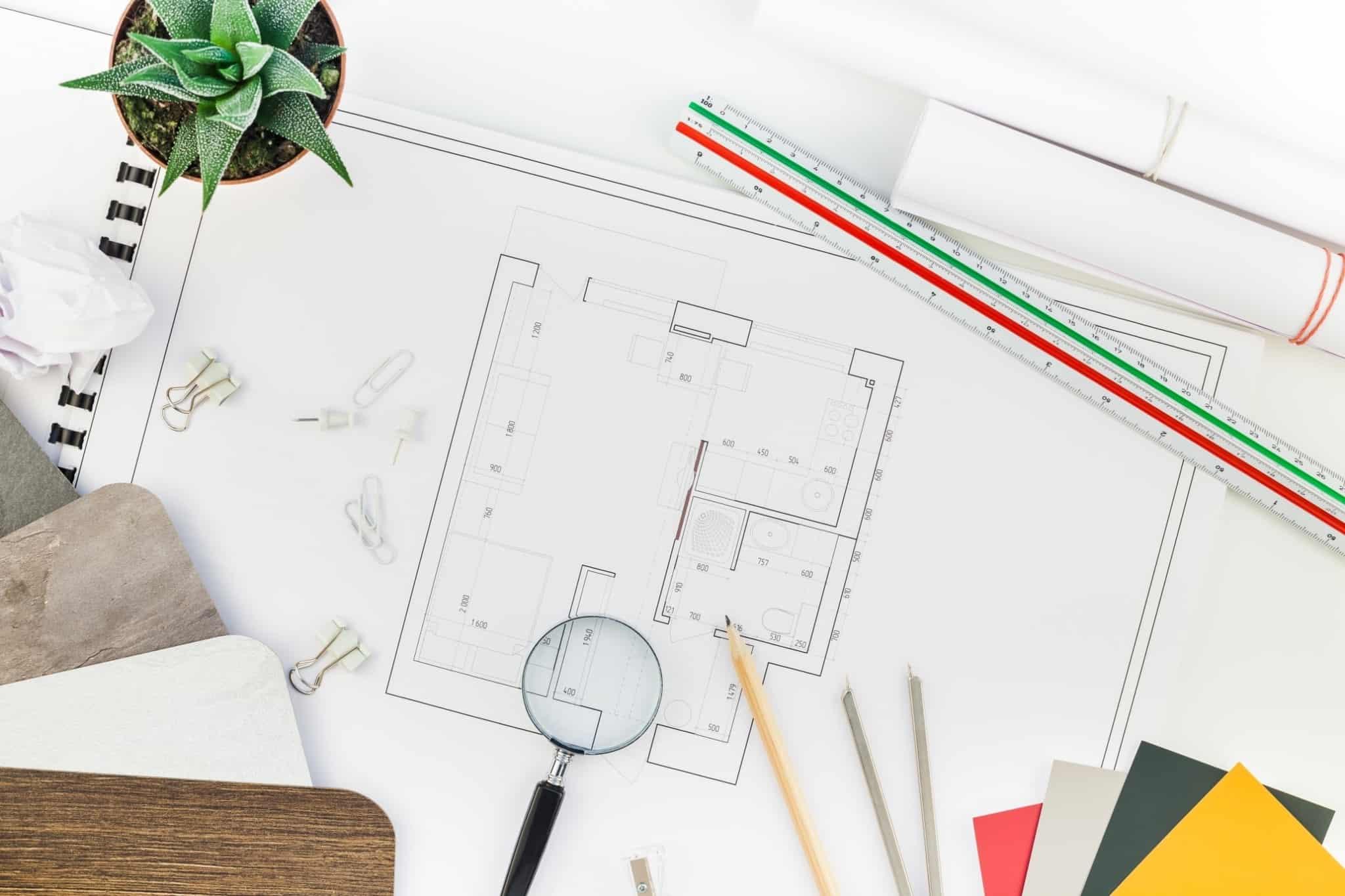 plano de arquitectura para casa