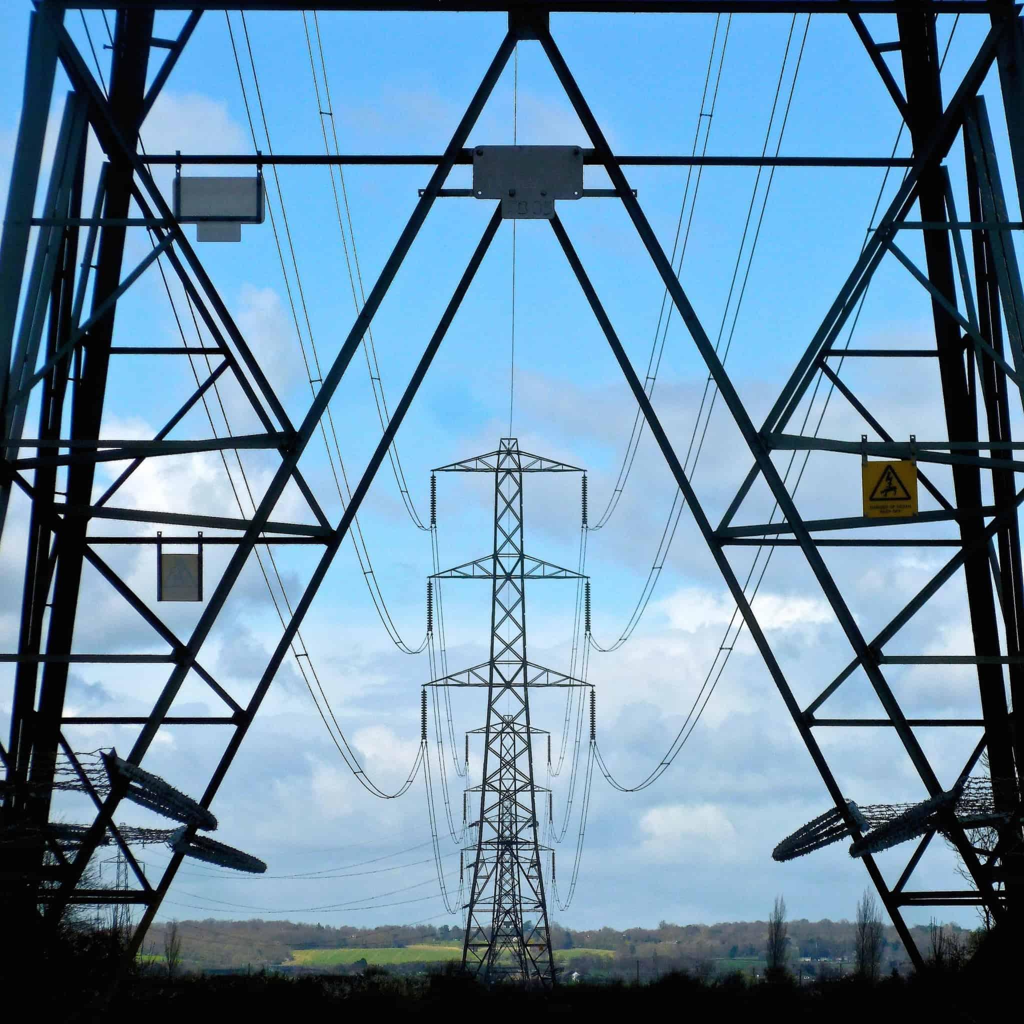 posto de eletricidade