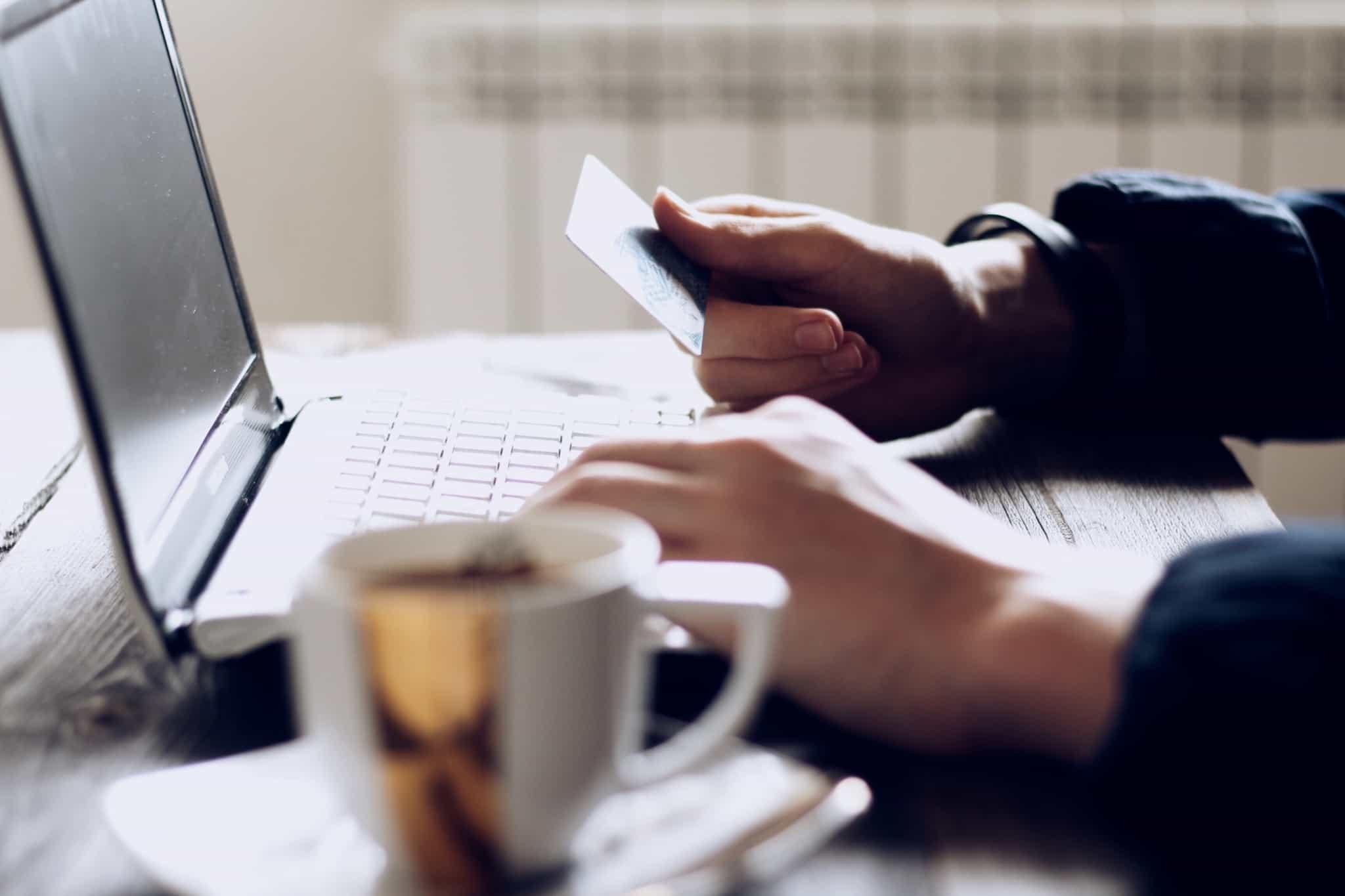 Compras online com cartão de crédito