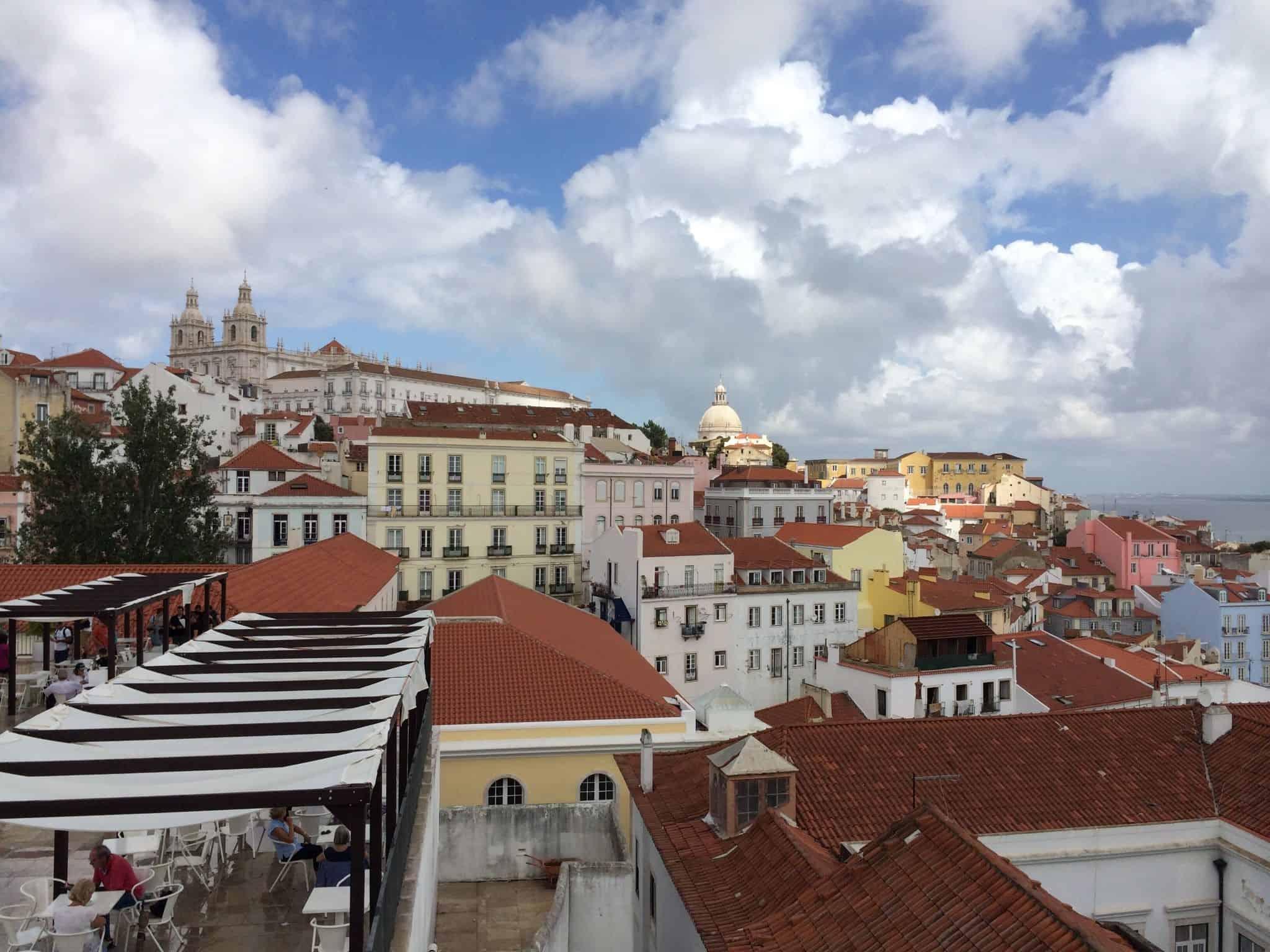 vista de Lisboa - casas